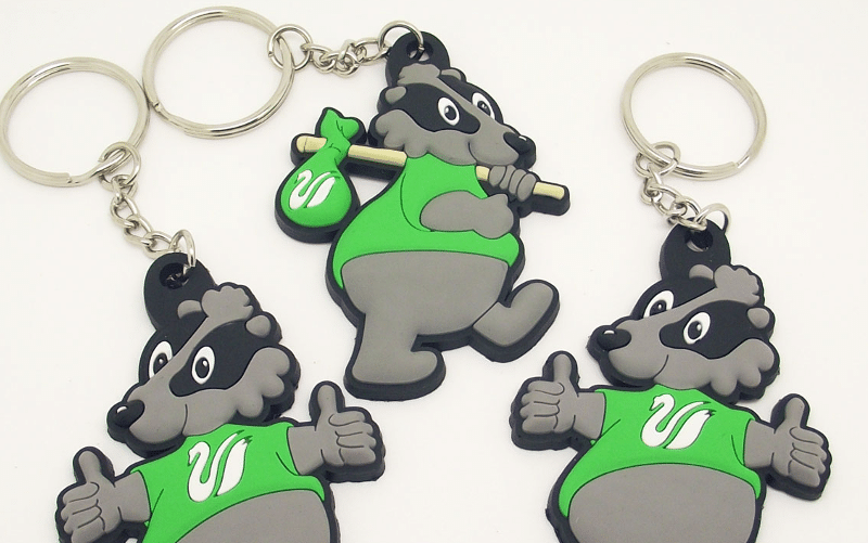 Custom Keychains from your Mascot - Promo Bears USA