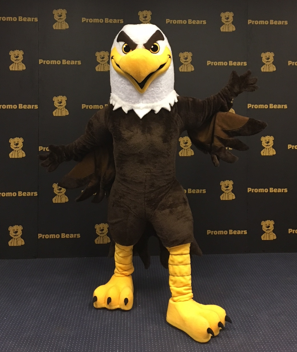 Eagle Mascot Costume in Stock of Professional Quality