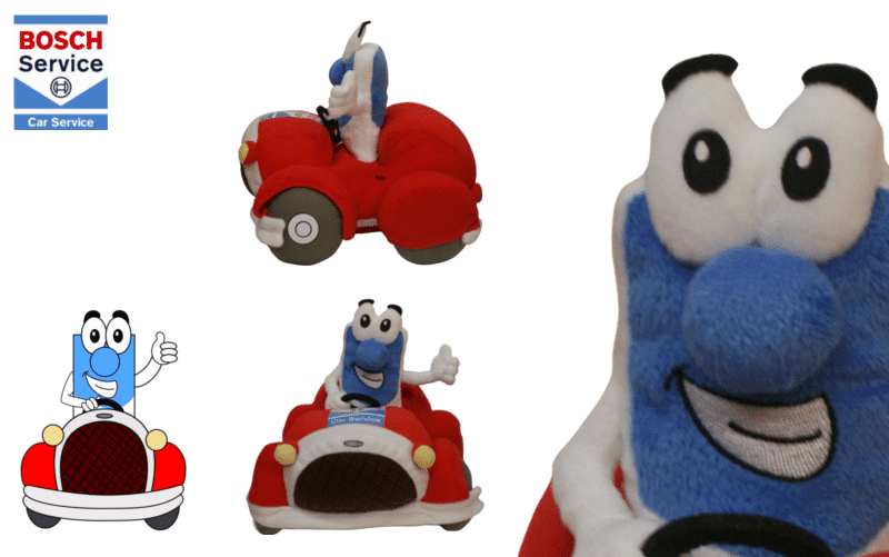 Custom Plush toy Bosch Car Service by Promo Bears