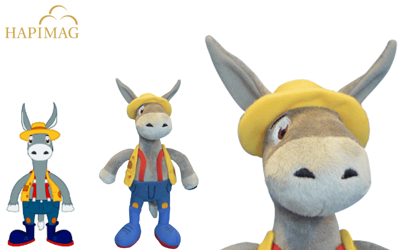 Custom Plush toy Reference Project Donkey for Hapimag by Promo Bears