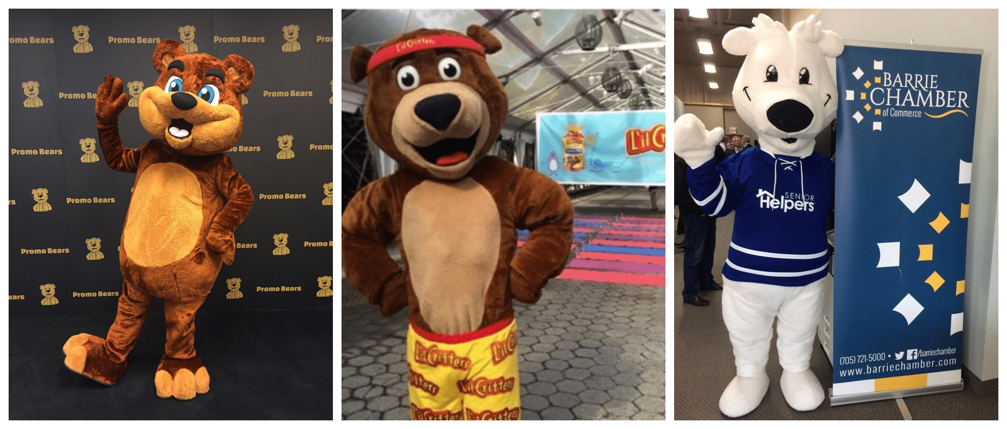 Custom Bear Mascots