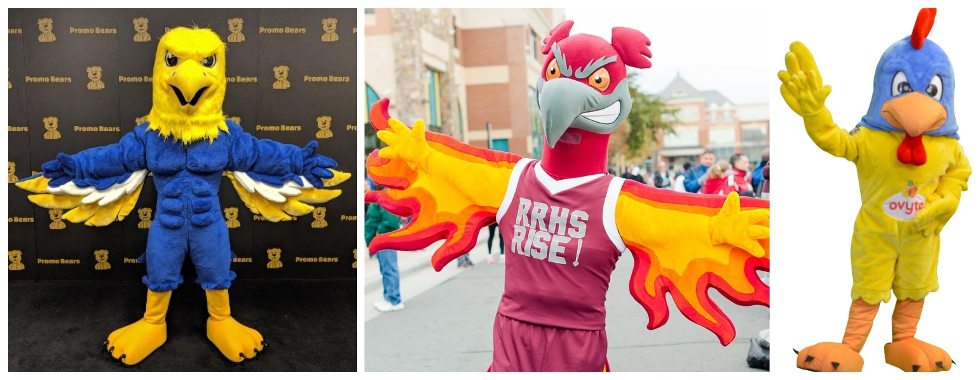 Custom Bird Mascots