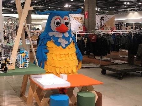 Custom Owl Mascot