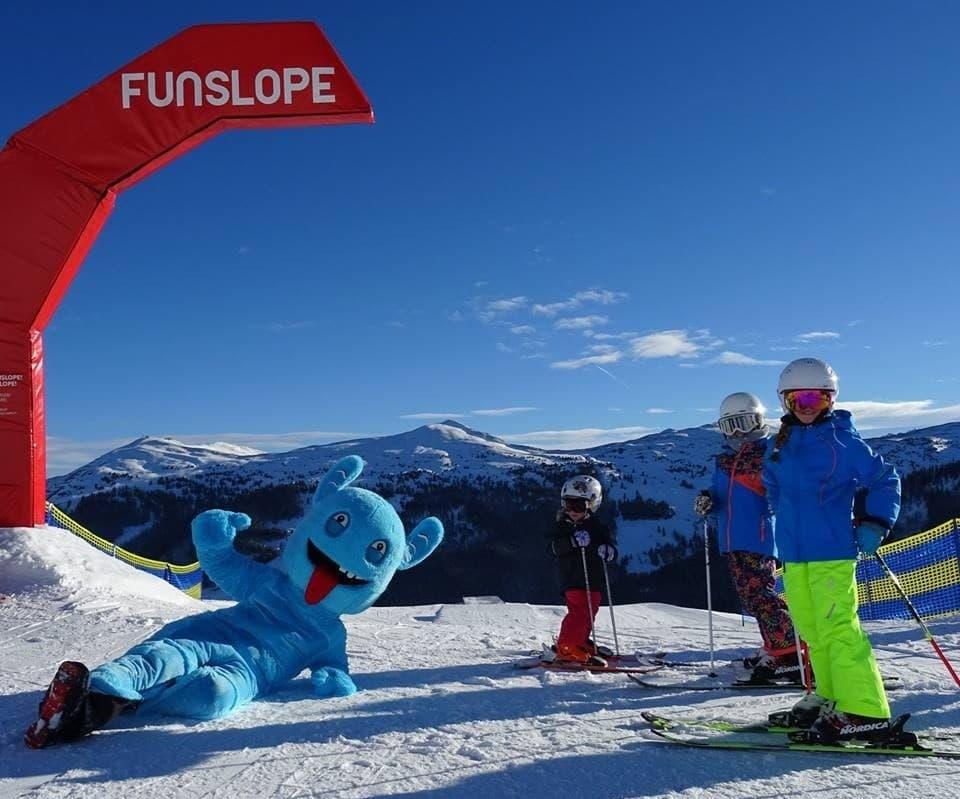 Custom Skiing Mascot