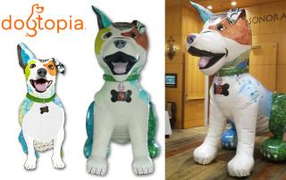 Dogtopia Giant Inflatable