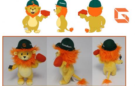 Gudlach Lion Plush Toy