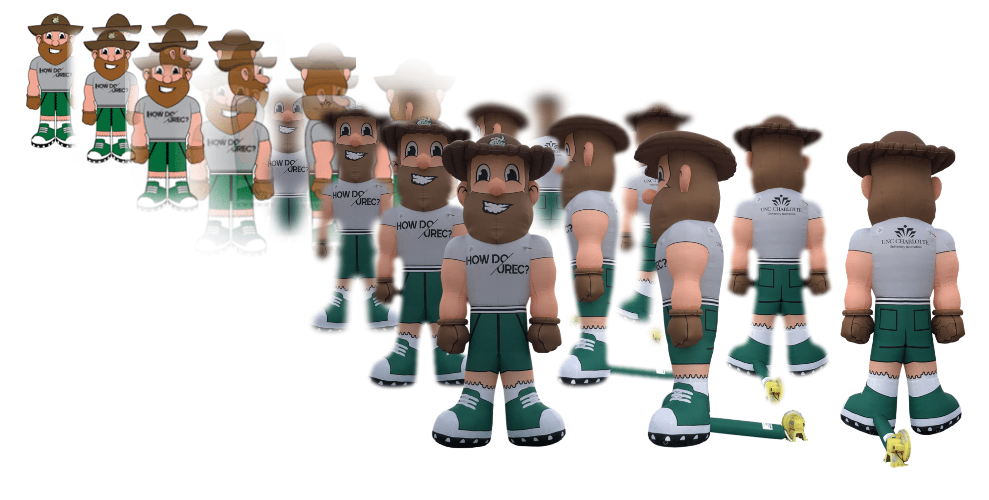 Inflatable Mascot Production