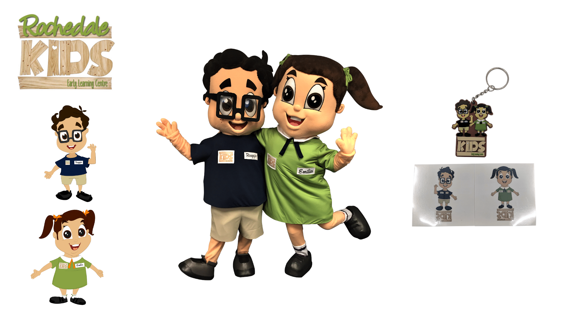 Kids ELC Mascots - Merchandise