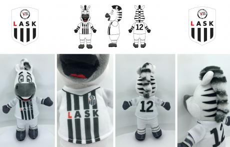 Lask Zebra Plush Toy