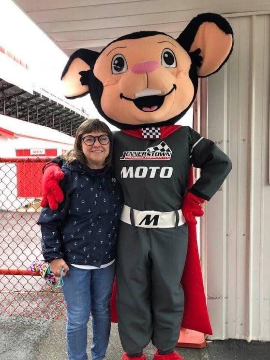 Moto Mouse Mascot 1