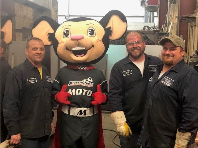 Moto Mouse Mascot 3