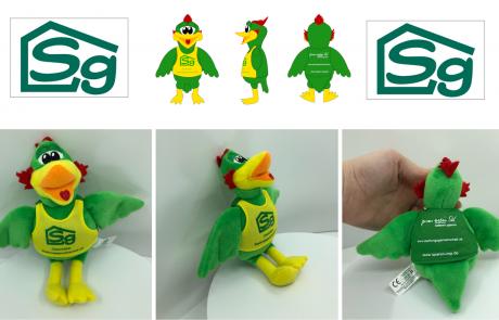 Sg Bird Plush Toy