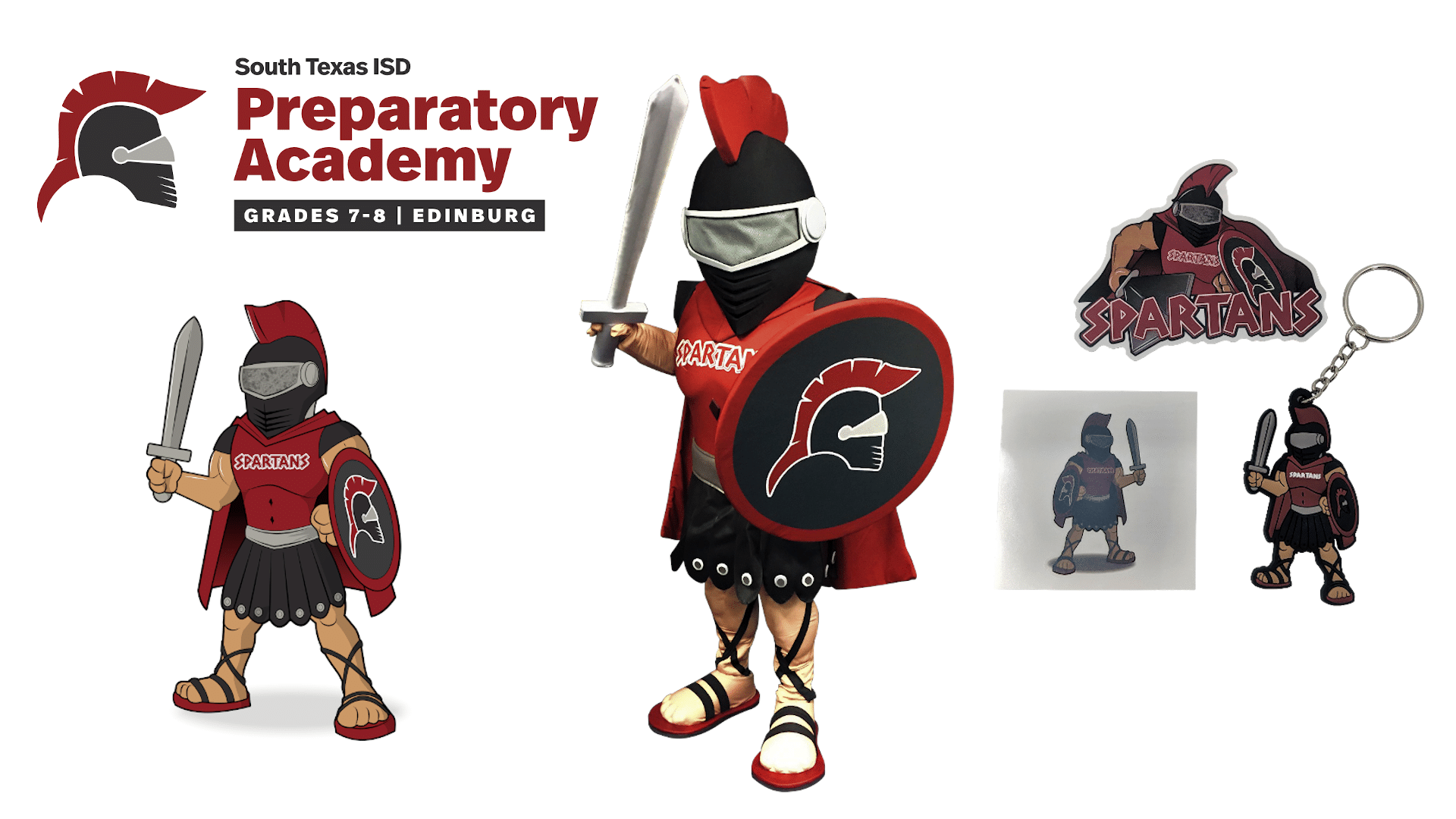 South Texas Prepartory Spartan - Merchandise