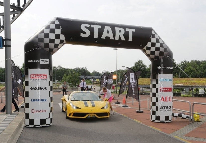 Start Line Inflatable Arch