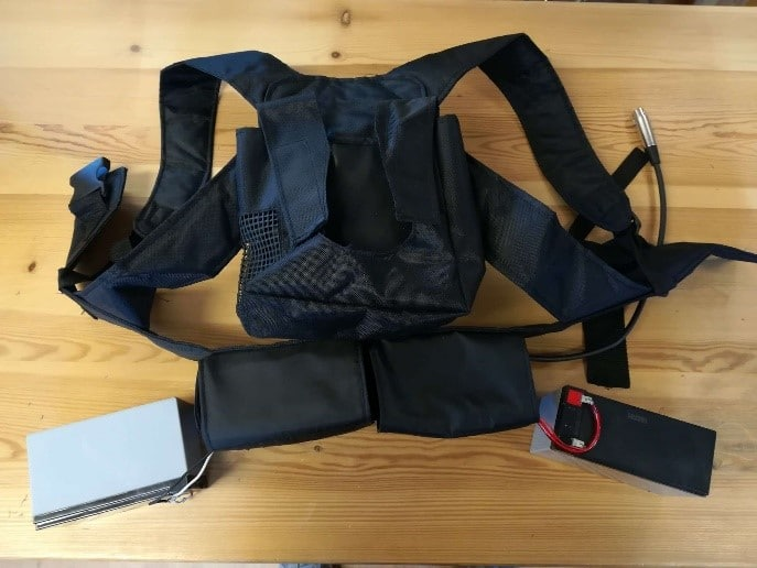 Interal Vest and Battery