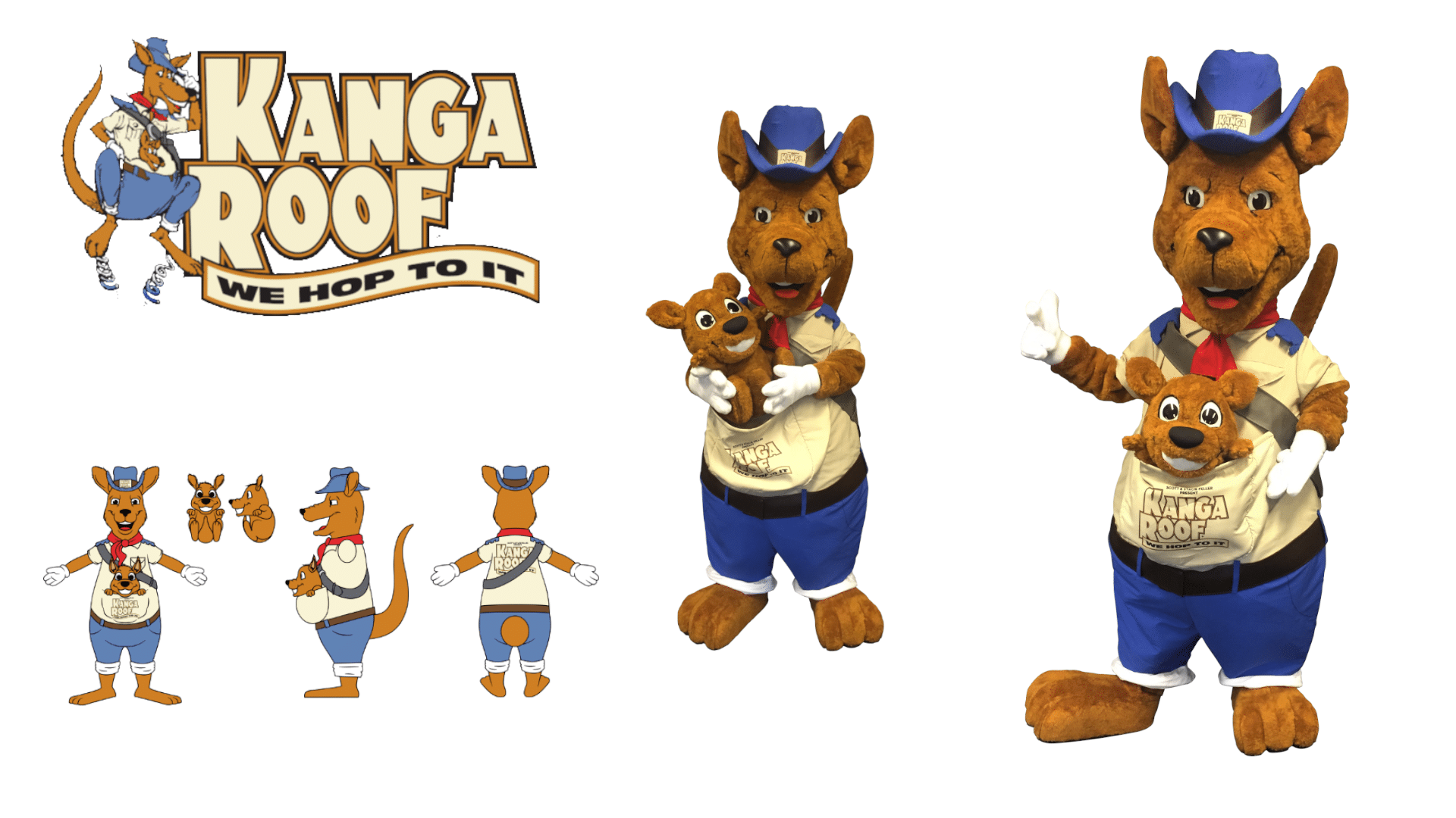 Custom-Mascot-Costume-Kangaroo-Kanga-Roof-by-Promo-Bears
