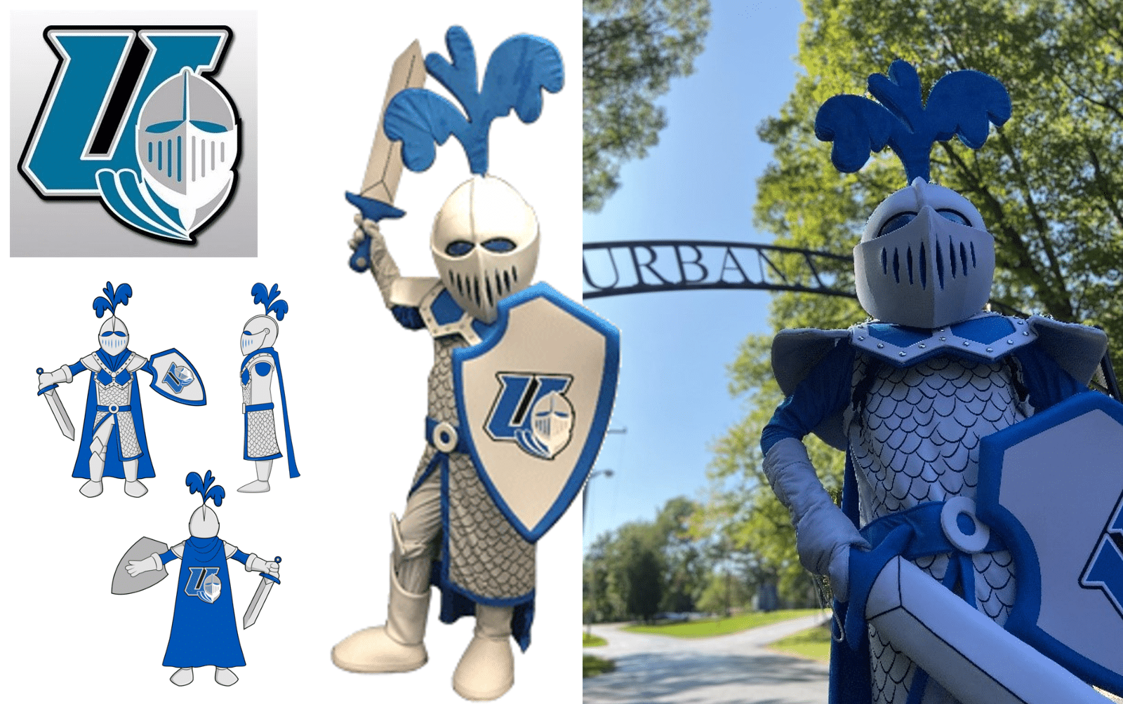 Custom-Mascot-Costume-Knight-Urbana-University-by-Promo-Bears