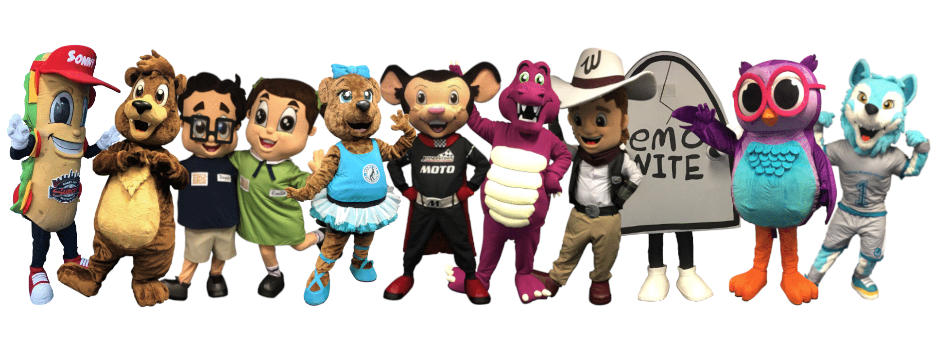 Custom Mascot Costumes by Promo Bears