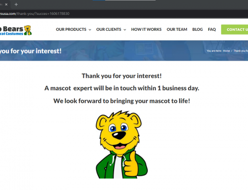 How to use your mascot online