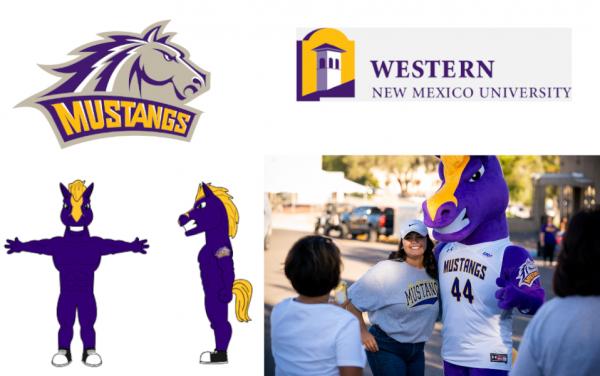 Custom Mascot - New Mexico - Western New Mexico University - Mustang